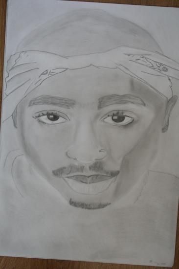 Tupac par blessings